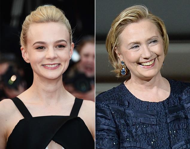 Carey Mulligan / Hillary Clinton