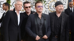 Adam Clayton, Larry Mullen, Jr., Bono, The Edge