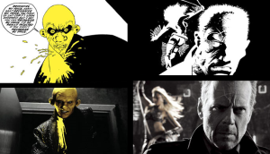 Comparaison BD Film Sin City