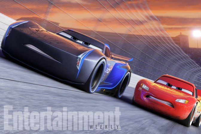 "CARS 3 NEXT-GEN TAKES THE LEAD ó Jackson Storm (voice of Armie Hammer), a frontrunner in the next generation of racers, posts speeds that even Lightning McQueen (voice of Owen Wilson) hasnít seen. ""Cars 3"" is in theaters June 16, 2017. ©2016 DisneyïPixar. All Rights Reserved."